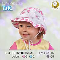 Стильная панама для девочки арт. 3-002300