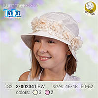 Панама для девочки арт. 3-002341