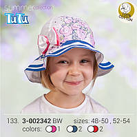 Стильная панама для девочки арт. 3-002342