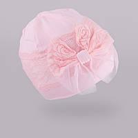 Демисезонная шапка для девочки TuTu арт. 3-002273(50-54)