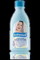 Cредство для принятия ванн c лавандой для хорошего сна Babylove entspannendes Schlaf Gut Bad 500 мл