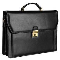 Практичный кожаный портфель KATANA k63025-1