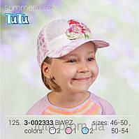 Стильная бейсболка для девочки арт. 3-002333