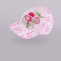 Стильная бейсболка для девочки арт.125. 3-002333