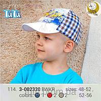 Стильная бейсболка с рисунком для мальчика,из новой коллекции TuTu арт. 3-002320