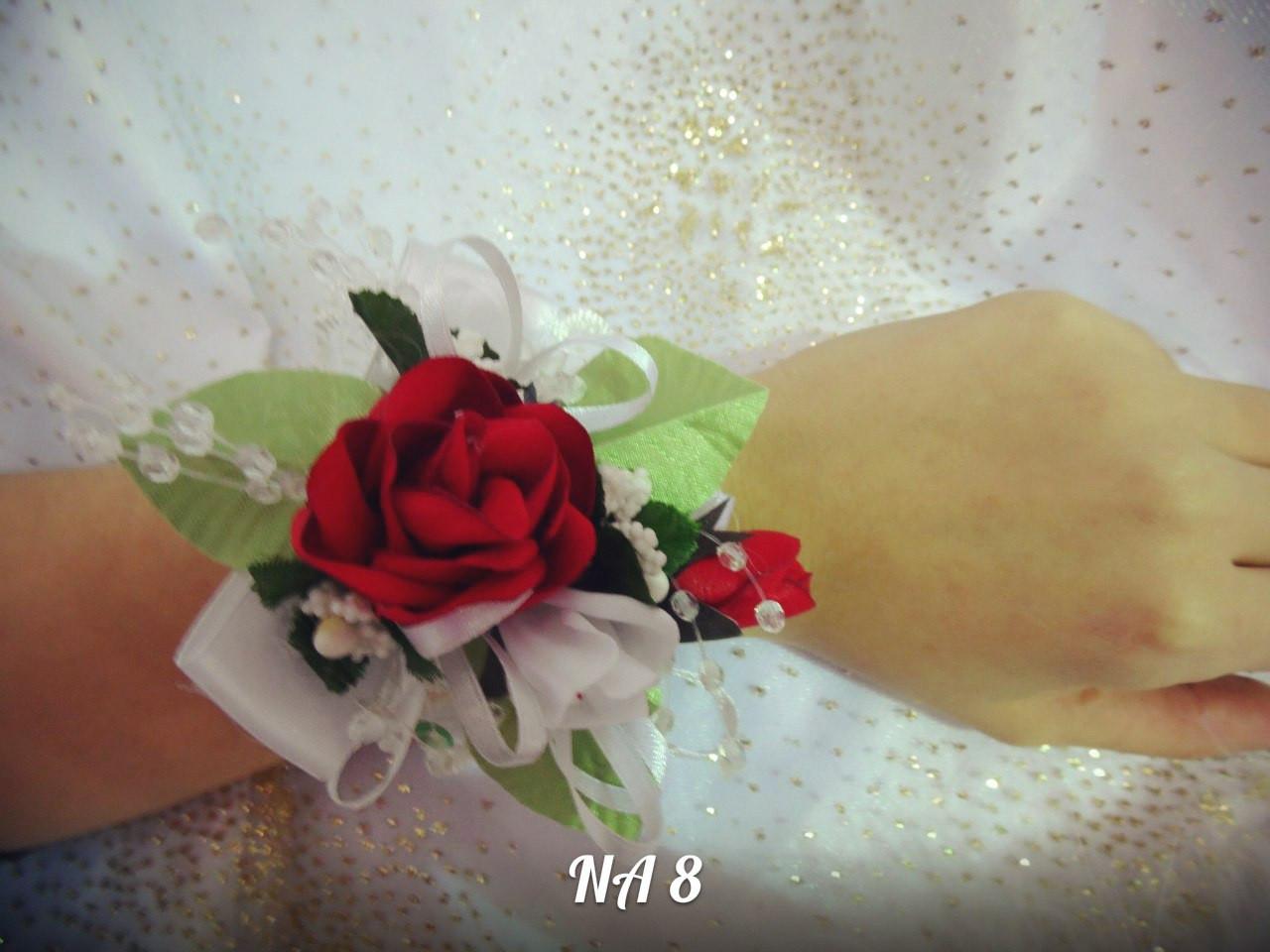 Свадебная бутоньерка на руку NA-8