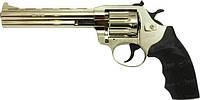 """Револьвер флобера Alfa мод 461 6"""" никель пластик 144927/7 4 мм"""