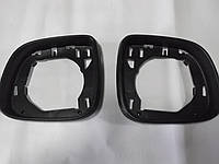Рамка передняя зеркала черная T6 09-