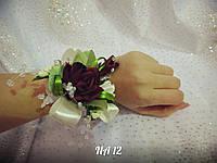 Свадебная бутоньерка на руку NA-12