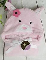 Плед-полотенце с капюшоном
