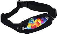 Спортивная сумка на пояс Baseus Digital Sports Belt (77х100x44 mm)
