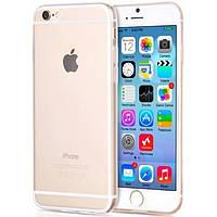 Чехол силиконовый 0.3мм для iPhone 6/6s, прозрачный