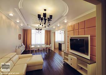 В деталях мебели присутствуют прямолинейные и криволинейные узоры, которые имитируют движение жизни и добавляют всему интерьеру визуальной драмы.