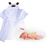 Плед-полотенце с капюшоном , фото 2