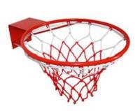 Кольцо баскетбольное 7035 с сеткой