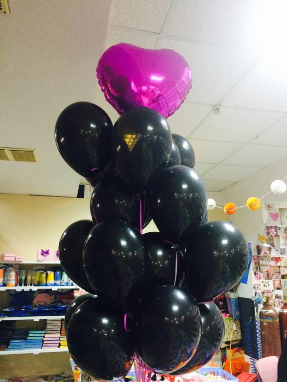 Накачка шаров гелием для вечеринки