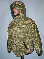 Куртка утепленная пиксель
