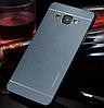 Металлический Синий чехол Motomo для Samsung Galaxy A7