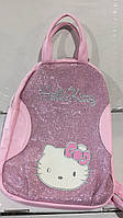 Рюкзак розовый Китти для девочки