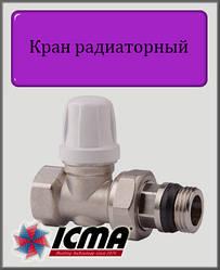 """Мікрометричний нижній вентиль 1/2"""" ICMA прямий"""