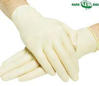 Перчатки хирургические латексные стерильные не припудренные текстурованные без валика на манжете