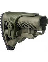 Приклад FAB Defense для М16/AR15 с регул. щекой ц:olive drab