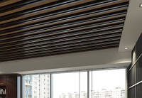Реечные панели для потолка (кубообразные)