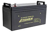 Гелевая тяговая аккумуляторная батарея Fisher 100A/h