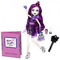 Кукла Monster High Спектра Вондергейст (Spectra) из серии Ночная жизнь Монстр Хай