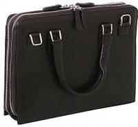 """Престижная сумка для нетбука 11,6"""" Vip Collection 403B flat тёмно коричневый"""