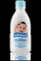 Пенка для купания Нежное прикосновение с экстрактом оливкового масла Babylove sensitive Pflegebad 500 мл