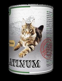 PLATINUM Lambс мясная сбалансированная консерва для кошек, 415 гр