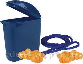 Беруши 3М в индивидуальной упаковке многоразовые 1271 со шнурком/ 1261 без шнурка
