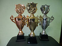 Кубок універсальний бутса+м'яч G,S,B,Н-34см,D-110мм