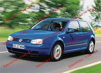 Ветровик VW Golf V 5d 2003-2008 (на скотче)