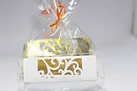 Упаковка для десертов вкладыш белый(код 04789)