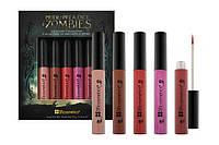 Коллекция 5 блесков для губ Zombies - Lip Gloss Collection