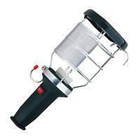 Переносной светильник с ручкой из каучука с выключателем 2Р+РЕ (каучук)