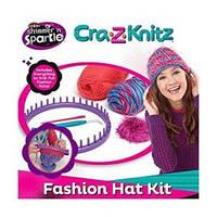 Набор для творчества Cra-Z-Knitz Вязание Модная шапочка