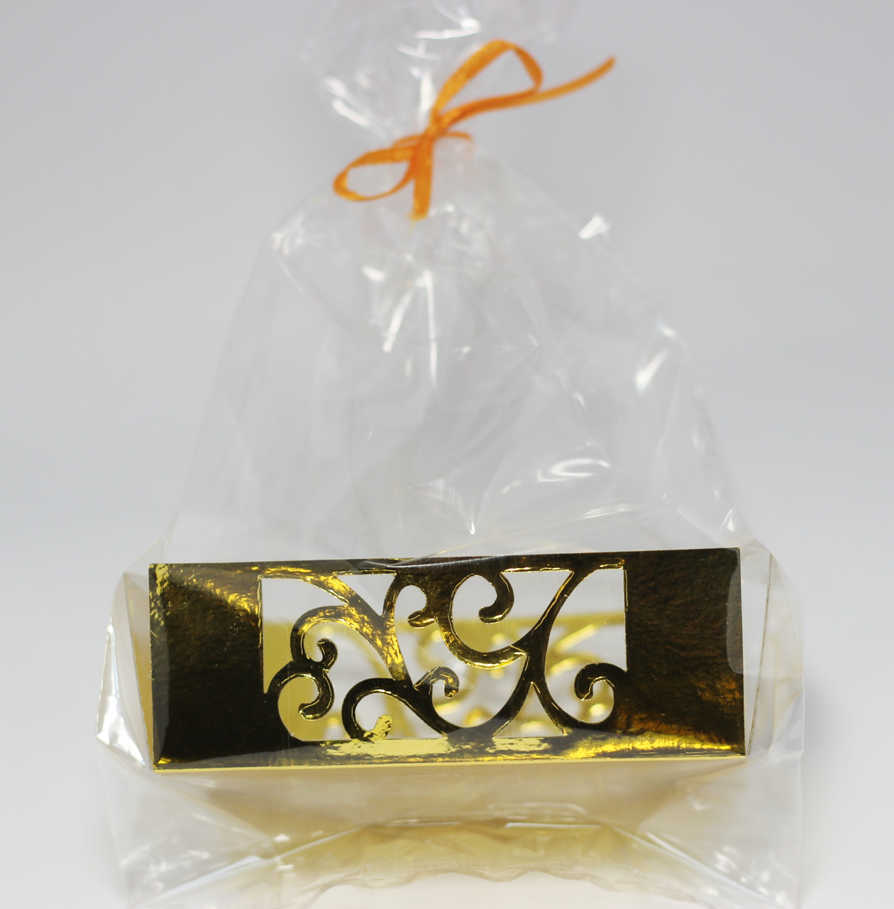 Упаковка для десертов вкладыш золото(код 04790)
