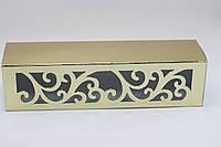 Коробка для Macaron  с узором золото (код 04788)