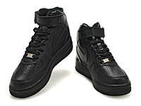 Кроссовки Nike Air Force 1 Black (копия)