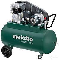 Компрессор поршневой с ременным приводом Metabo Mega 350-100D 601539000