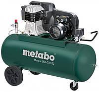 Компрессор поршневой с ременным приводом Metabo Mega 650-270D 601543000