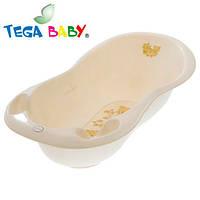 Детская ванна большая Tega 102 см MS-005 Teddy Bear бежевый