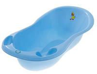 Детская ванна большая Tega 102 см со сливом TG-061 Lux Balbinka  голубые