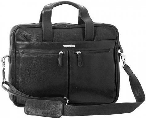 """Удивительная сумка для ноутбука 15,6"""" Vip Collection 50104A flat черный"""