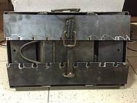 Мангал-чемодан с подставками (10 шампуров), толщина 3 мм, разборной, компактный