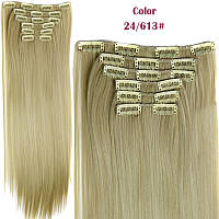 Трессы из искусственного волоса прямые; комплект;