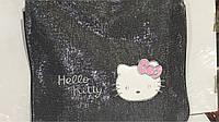 Детская блестящая сумочка kitty 2016